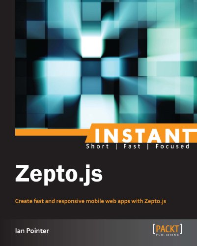 Instant Zepto.js (English Edition)