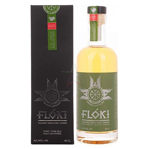 Flóki Icelandic BIRCH FINISH Single Malt Whisky Whisky (1 x 0.5)