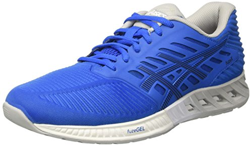 Asics Men's Fuzex Gymnastics Shoes, Blue (Directoire Blue / Peacoat / Mid Grey), 7 UK