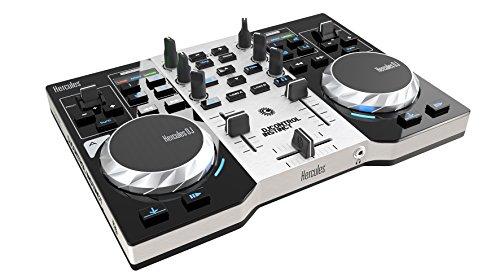 Hercules DJ Control Instinct S Series (2-Deck DJ Controller, integr. Soundkarte, DJUCED 18°, PC / Mac)