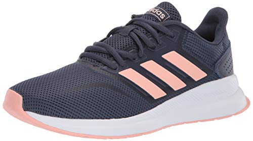 adidas Women's Runfalcon Running Shoes Trace Blue/Dust Pink/Trace Blue