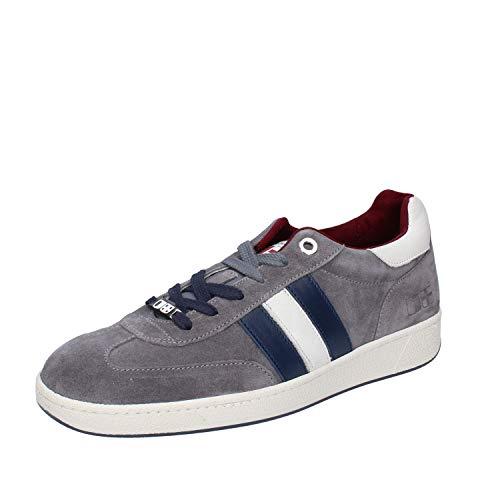 D'Acquasparta Sneaker Uomo Pelle Scamosciata Grigio 39 EU