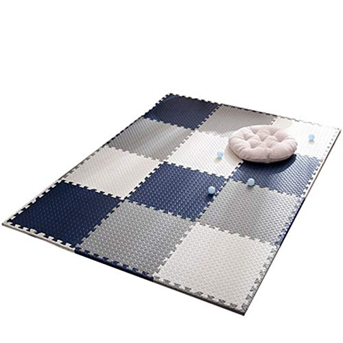 ALGWXQ Tapetes de Espuma de Enclavamiento para Bebés Durable Impermeable Playmat Usado para Cuarto del Bebé, Oficina, Patio Interior, 1,0 Cm / 1,2 Cm / 2,5 Cm, 12 Especificaciones