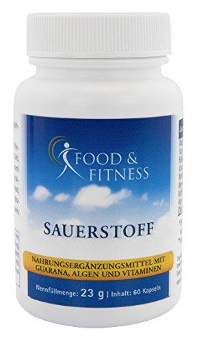 Sauerstoff Supplement für die optimale Sauerstoffaufnahme. Als Kapseln für die Konzentration, Müdigkeit und Erschöpfung, das Immunsystem und die Sportleistung.
