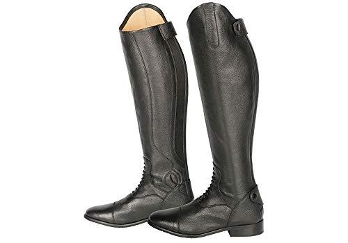 Harrys\'s Horse Leder Reitstiefel Donalelli Dressurbogen div. Weiten und Höhen schwarz (XS 38)