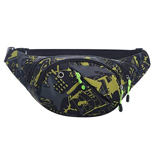 JUNGEN Camo Gürteltasche Erwachsene Freizeit Bauchtasche Unisex Hüfttasche für Outdoor Aktivitäten