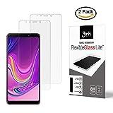 Likano 3mk FlexibleGlass Lite für Samsung Galaxy A9 2018 [2 Stück] Hybride von Schutzfolie & Panzerglas, Folie nur 0,16 mm dick