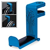 ENHANCE PC Gaming Headphone Holder - Desk Headphone Hanger Esports Headset Holder with Adjustable 360 Rotation, Under Desk Headphone Hook Clamp, Universal Fit, Built in Cable Clip Organizer - Blue cheap gaming desktops May, 2021