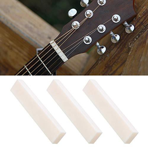 Écrou d'oreiller de corde de guitare électrique de belle facture pour les amateurs de guitare pour tout technicien de guitare pour les amateurs de guitare(3 pieces)