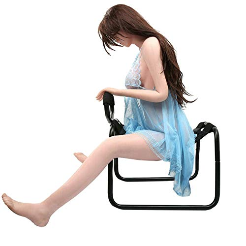 Maoan Multifunction Support Chair Aid with Handle, Couple Game Auxiliary Sex Play, Fun and Surprising Gift for Couples, Bounce Elasticity Chair, Adjustable Fun Yoga Seat for Couples