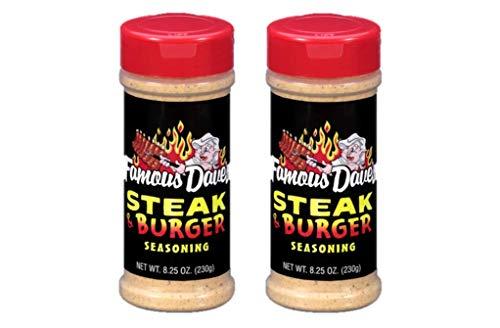 Famous Dave's Steak & Burger Seasoning Bundle - 2 Pack