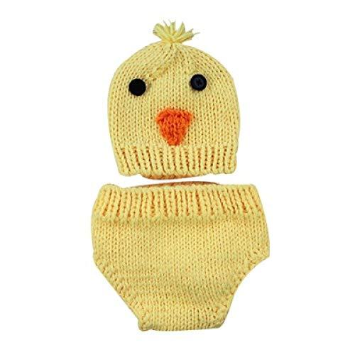 PZNSPY 0 tot 12 Maanden Baby Photo Props Pasgeboren Baby Meisjes Jongens Gehaakte Kostuum Fotografie Prop Outfits C