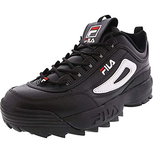 Fila Men's Disruptor II Premium Trainers, Black Multi, 10 Medium US