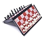 Magnetic Chess Set with 12.5 inch Foldable Board from Red Star Tec