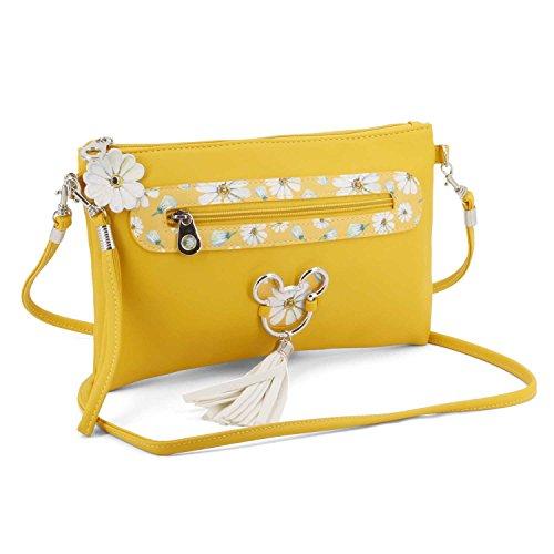 Karactermania Mickey Mouse Camomilla-Action Handy Shoulder Bag Borsa Messenger, 28 cm, Giallo...