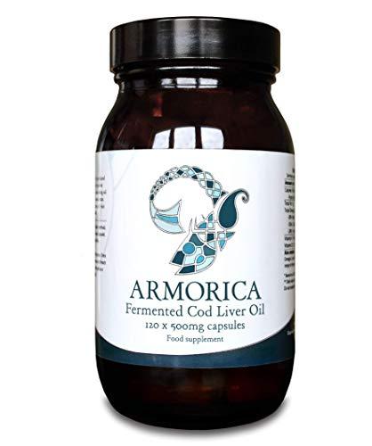 Armorica Aceite de hígado de bacalao fermentado (cápsulas de 120 x 500 mg)