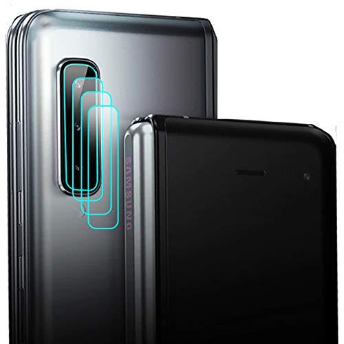 Miimall【4枚セット】対応Samsung Galaxy Fold カメラレンズフイルム サムスン ギャラクシー Fold AU SCV44 レンズフイルム 自己吸着層 防指紋 気泡なし 超薄型 簡単貼付 高透過率 Samsung Galaxy Fol