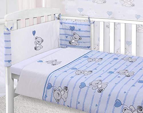 Boys 3 Piece Nursery Blue Teddy ...