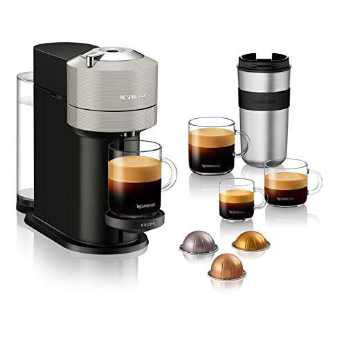 Nespresso Krups Vertuo Next Gris Clair, Machine Expresso, Ma