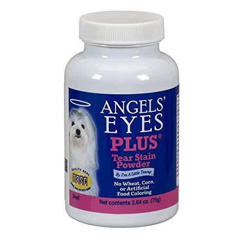 Cães Elimina Mancha de Lágrima Angels Eyes Plus Carne - 75g