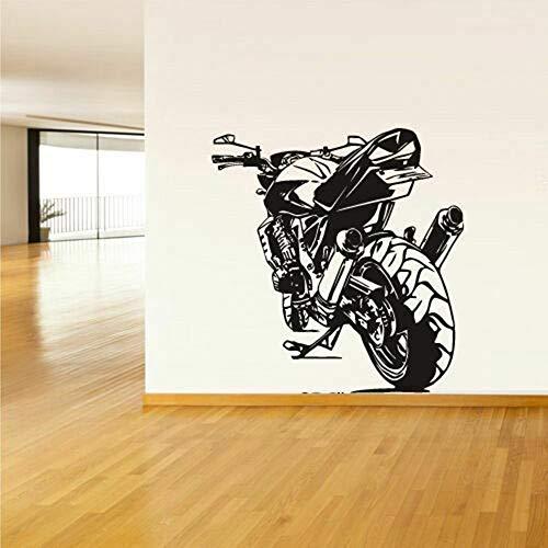 wZUN Pegatina de Vinilo para Motocicleta, calcomanía Deportiva para Motocicleta, Vinilo para decoración de Habitaciones, 52X50 cm