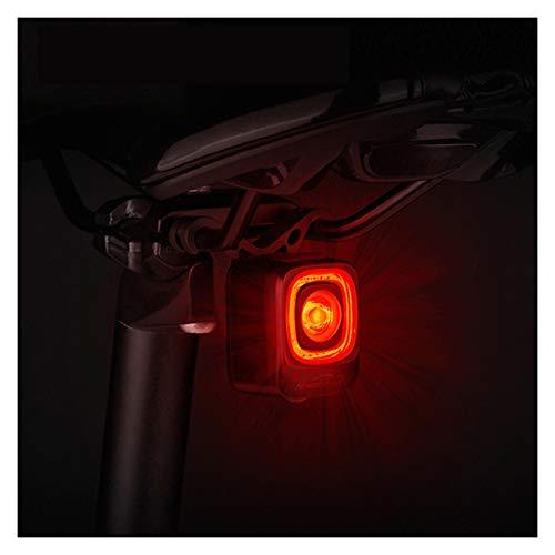 Luces De Bicicleta MagicShine Bicycle Smart Auto Freno Sensando Luz IPX6 Impermeable Cargar Bicicleta Luz Trasera Ciclismo Tras Light (Color : SEEMEE 200)