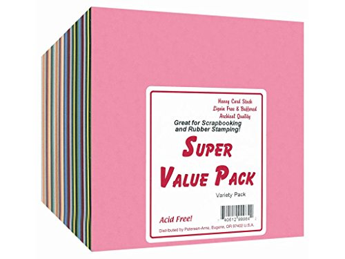 Accent Design Paper Accents SuperValueVarietyPack6x6300pc Paper, Multi