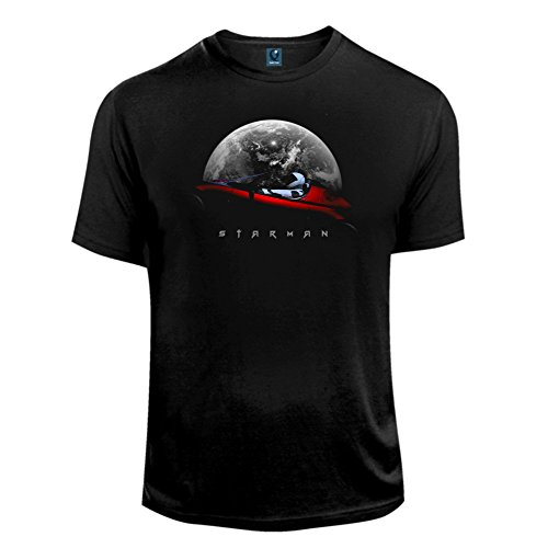 Quaint Point Starman Car Herren T-Shirt KDV1 (XL)