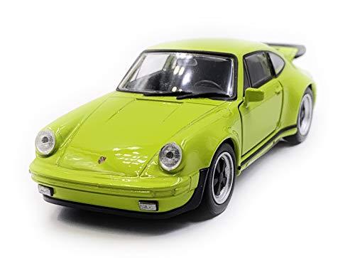 Onlineworld2013 911 Turbo 930 Sportwagen Modellauto Auto Zufällige Farbe! Maßstab 1:34 (lizensiert)