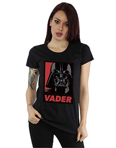 Preisvergleich Produktbild Star Wars Damen Darth Vader Poster T-Shirt Small Schwarz