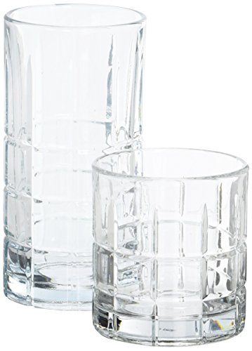 Anchor Hocking Anchor Manchester 16Pc. Set, Multi (Set of 16), Clear