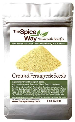 The Spice Way Fenugreek - ground | 8 oz | great for Indian curry seasoning