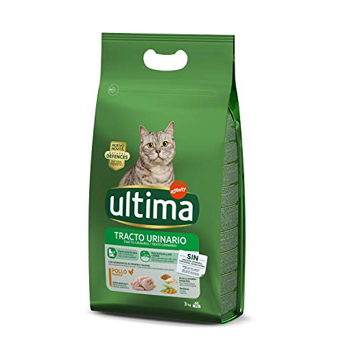 Ultima Pienso para gatos con problemas del tracto urinario, con pollo - 3 kg