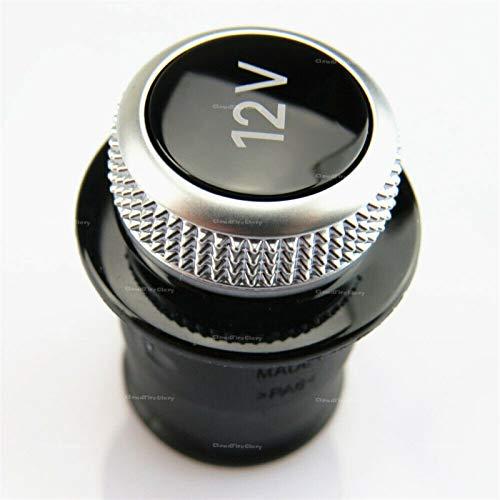 Lanrui Cubierta Encendedor Chrome PLAZABLE CIGUSTIENTE Encendedor 12V 4L0919311 8WD919311 para Audi A3 A4 A5 A6 A7 Q3 Q5 Q7 TT RS6 RS7