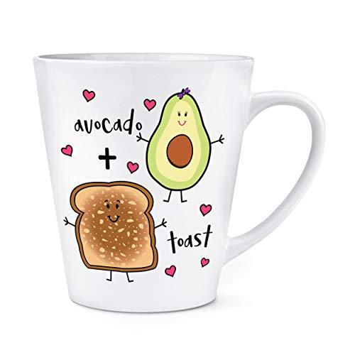 Aguacate Plus TOSTADA 12ozL Latte Taza