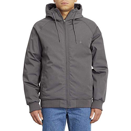 Volcom Hernan 5K Jacket, Giacca Uomo, Nero (Dark Charcoal), M
