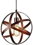 Lámpara Colgante Vintage, Lámpara de Techo Retro