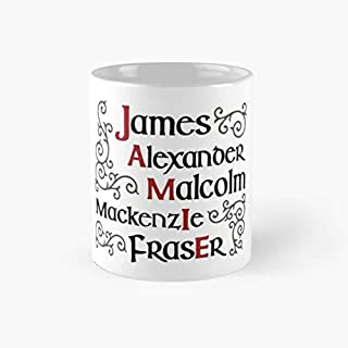 Jamie Fraser Merch Outlander Merchandise 11 Oz Coffee Mugs