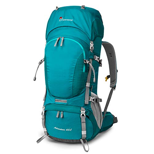 MOUNTAINTOP 60L Hiking Backpack/Trekking Rucksack,81 x 32 x 23 cm