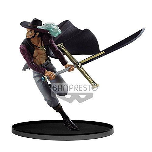 Banpresto 604719Scultures One Zweischichtig bwfc op- Mihawk Action Figur, 17cm