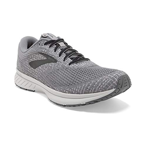 Brooks Herren Revel 3 Laufschuhe, Grau (Quiet Shade/Opal Grey/Black 099), 47.5 EU