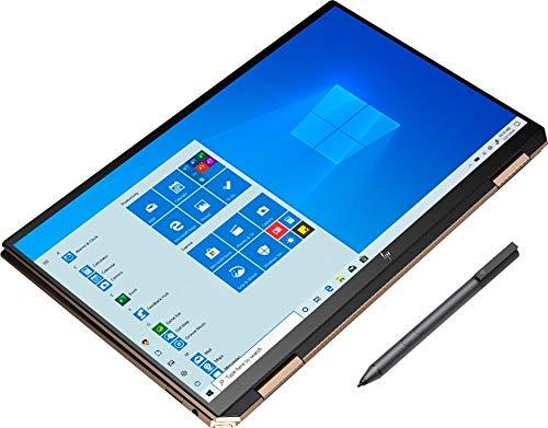 Newest HP Spectre x360 13t (10th Gen Intel i7-1065G7, 4K AMOLED, 16GB, Precision, WiFi 6 AX, with Stylus Pen, 2-in-1, B&O, 3 Years McAfee Security, Windows 10 PRO, HP Warranty) Nightfall Black