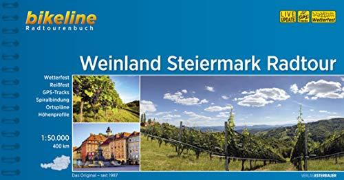 Weinland Steiermark Radtour: 1:50.000, 400 km (Bikeline Radtourenbücher)