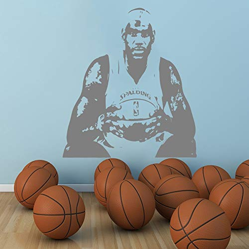 Geiqianjiumai Große Familie Dekoration berühmten Basketballspieler Trikot Ritter Team Form König...
