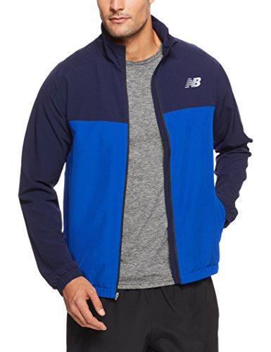 New Balance tenacia, giacca in tessuto, Uomo, Team Royal, Large