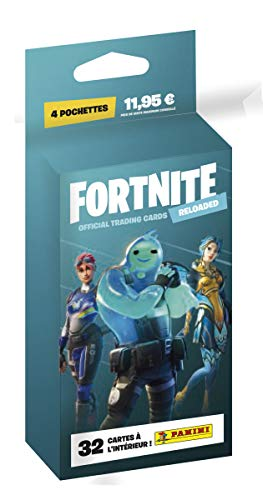 Panini France SA-FORTNITE Series 2 Trading Card Collection Reloaded-4 Pochettes, 003747KBF4