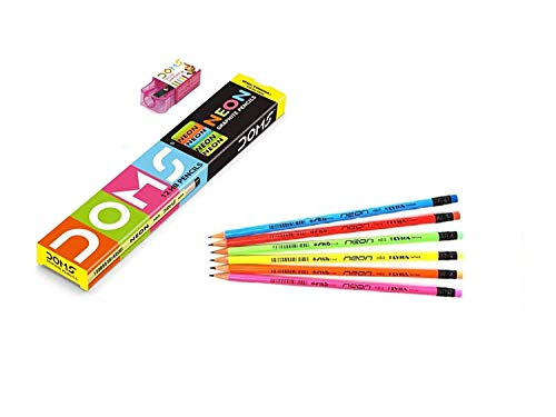 DOMS NEON PENCIL (PACK OF 3)