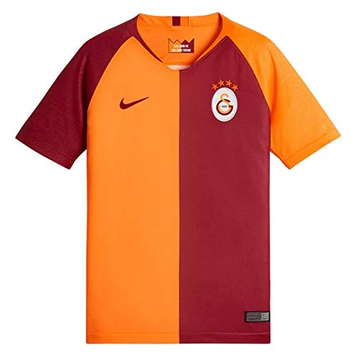 Nike Kinder Galatasaray Breathe Stadium Jersey Short-Sleeve Home Trikot, Vivid orange/Pepper red/Pepper red, M