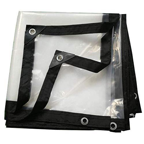 HCYTPL Transparant dekzeil regenbescherming verdikte kunststof doek plant isolatie film vloer blad afdekking -120g