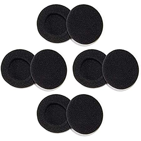 1.8inch (48mm) Foam Ear Pad Headphone Covers - 8 Pack